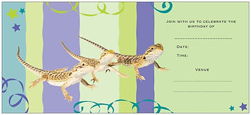 birthday party invites, birthday party help, reptile themed birthday party, wildlife demonstrations, Bearded Dragon, Pogona vitticeps