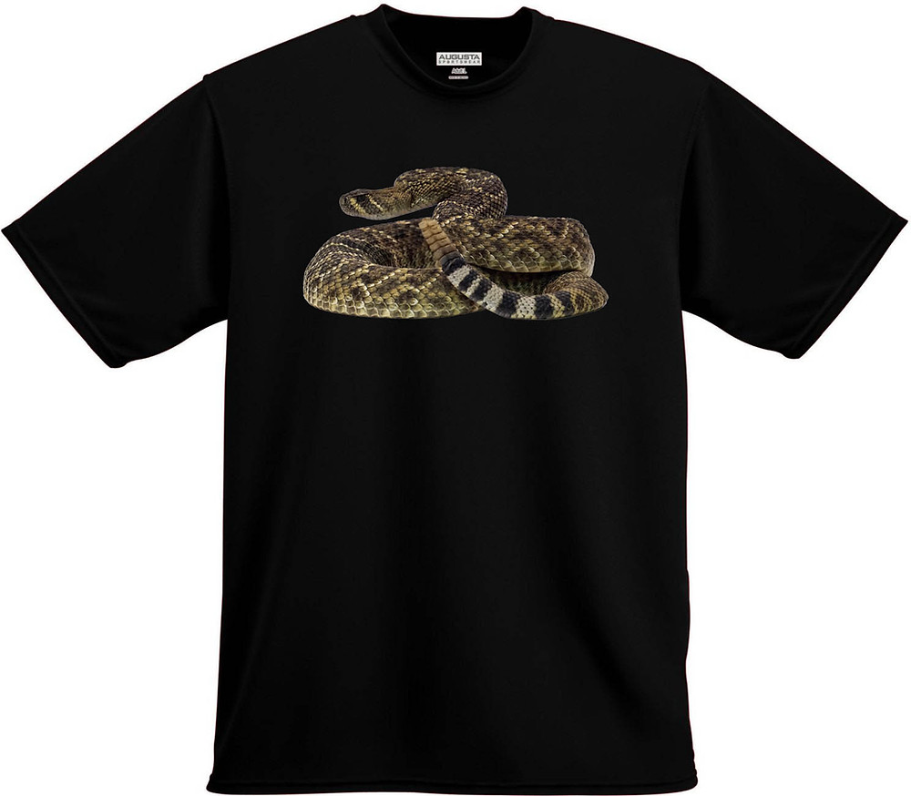 Rattlesnake T-shirt by Nature 4 You