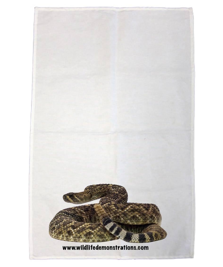 Western Diamondback tea towel by Nature 4 You