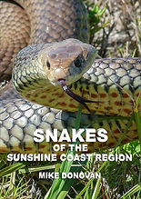 Snakes of the Sunshine Coast region by Mike Donovan