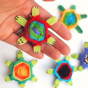 woven turtles, turtle activities for kids, turtle crafts for kids, reptile crafts, reptile activities for kids