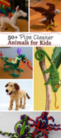 pipe cleaner crafts, pipe cleaner animals, pipe cleaner activities for kids, reptile crafts, Nature For You