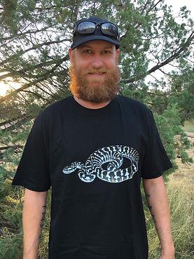 Nature For You, jungle python, reptile clothing, snake shirt, python, Black and White Jungle python, Australian Python, reptile photography