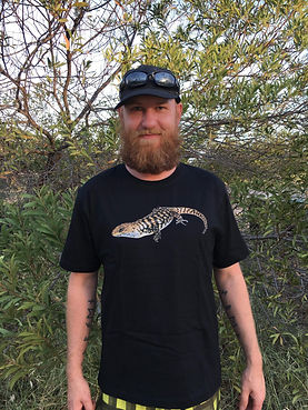 Cunningham Skink, lizard shirt, reptile clothing, wildlife apparel, Nature For You