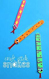 snake sticks, snake crafts, python crafts, snake activities for kids, python activities for kids, reptile crafts for kids, reptile activities for kids, Nature For You