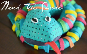 neck tie snake, snake crafts, snake activities for kids, reptile crafts, Nature For You