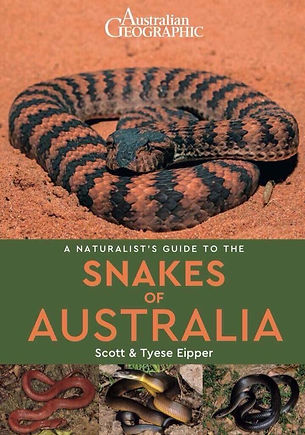 A Naturalist's Guide to the Snakes of Australia by Scott & Tie Eipper