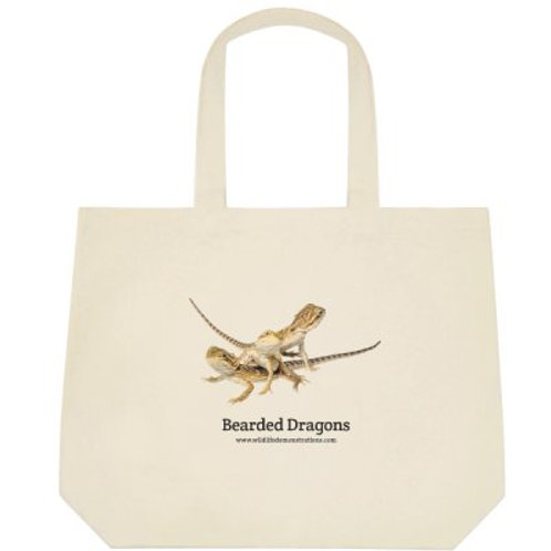 Lizard, Crocodile, Turtle and Frog Tote Bags