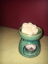 Nature For You, candle, soy melt, paw print melt