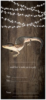 Kimberly Blue Tongue, Blue Tongued Lizard Birthday party invite, birthday party help, birthday invitations, lizard, skink, australian lizard, Nature For You