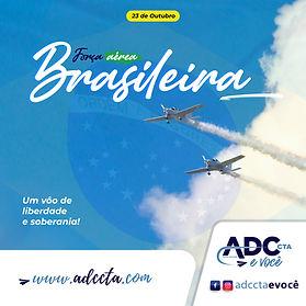 Gestão de marketing digital e estratégico para a ADC CTA. Posts, campanhas, layout da força aérea brasileira.
