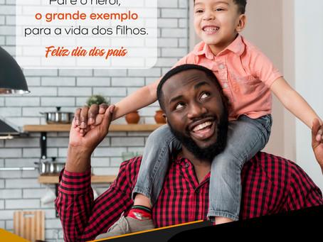 Pai é o herói, o grande exemplo para a vida dos filhos.