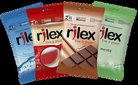 Criação de embalgem para preservativos Rilex.
