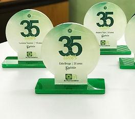 Endomarketing - Criação de troféus para Ao Pharmacêutico - SJC.