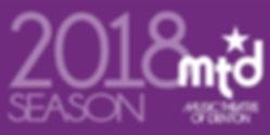 Music Theatre of Denton 2018 Season