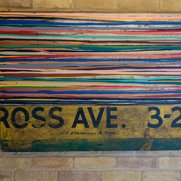 "27""h x 37""w x 1 1/2""d collage 