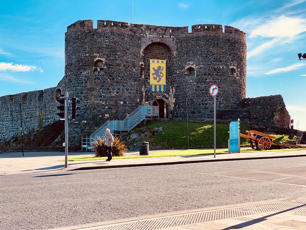Picture of Carrickfergus Castle in Northern Ireland