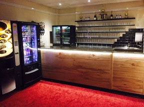 Our New Bar.... looking amazing!!
