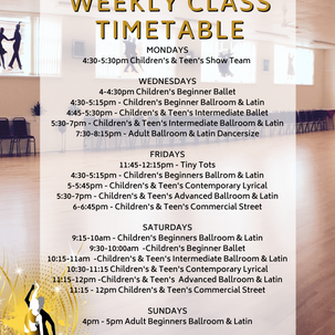 More NEW CLASSES for you!