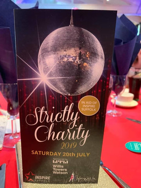 Strictly Charity 2019