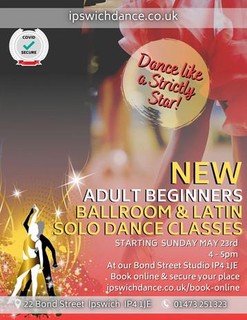 Adult beginners strictly ballroom latin