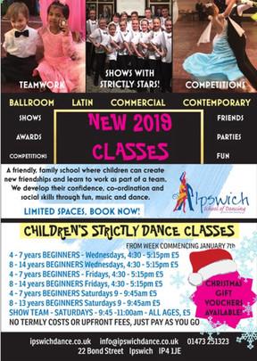 Children's Classes for 2019