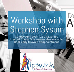 Workshop with Stephen Sysum.