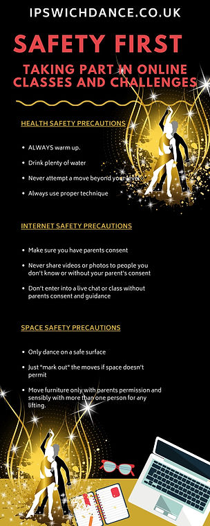 SAFETY FIRST WHILE TAKING PART IN ONLINE