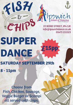 Supper Dance Saturday September 29th