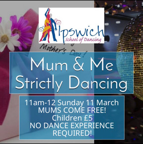 Mum & Me Strictly Dancing