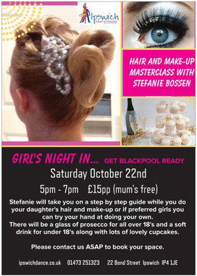 Hair and Make-up Masterclass with Stefanie Bossen
