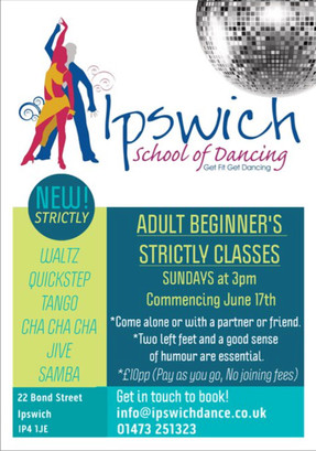 New Adult Beginners Strictly Classes