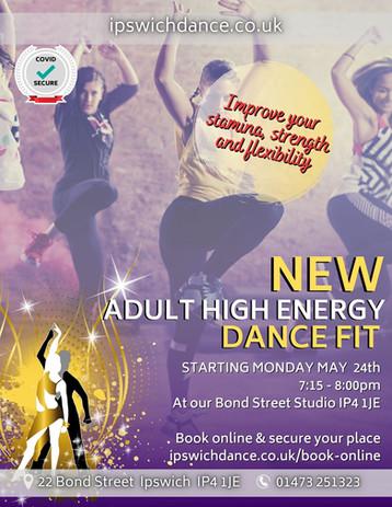 high energy dance fit