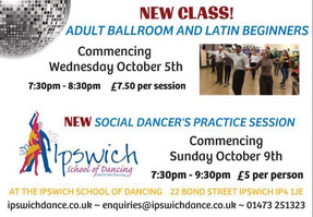 New Adult Ballroom and Latin Beginners Class