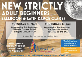 NEW BEGINNER'S CLASSES!