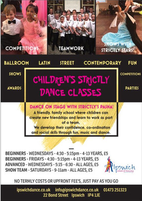 Children's Strictly Dance Classes
