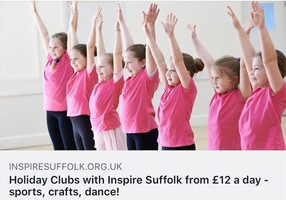 Holiday Clubs with us and Inspire Suffolk