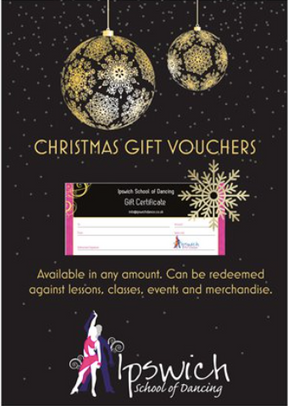 Our Christmas Gift Vouchers are selling like hot cakes!