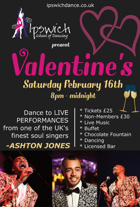 Valentines Dance with live music