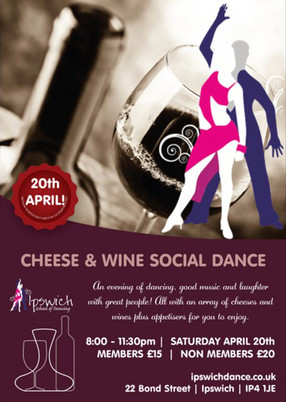 Easter Cheese & Wine Social Dance