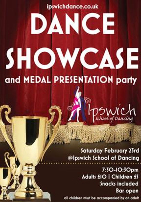 Dance Showcase & Medal Presentation
