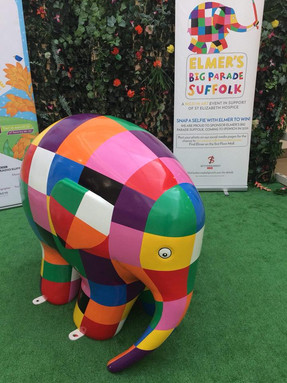 We are part of Elmer's Big Parade Suffolk!!