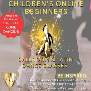 Children's Beginners Online Zoom Classes