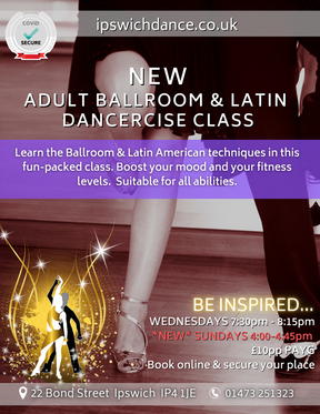 Sunday Adult Dancercise Classes added