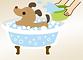 犬ペット炭酸泉美容