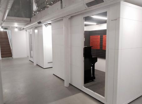 New Practice Rooms!