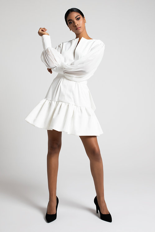 Short oversize dress