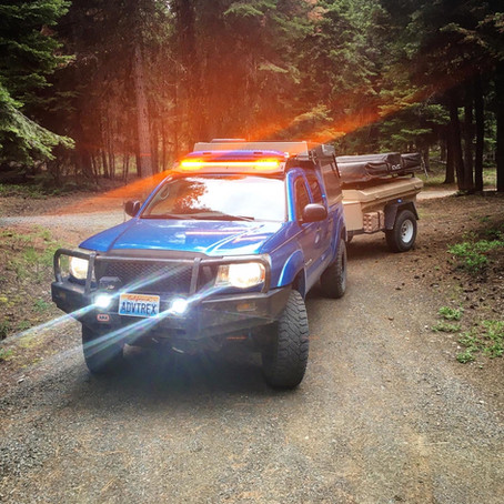 Would You Like To Own A 2009 Toyota Tacoma DCSB TRD Off Road with a 2017 AT Overland Habitat Camper?