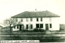 Original Courthouse with addition