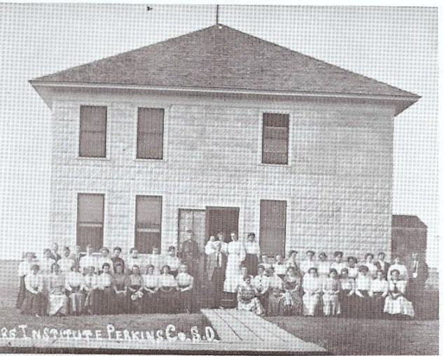 Original Perkins County Courthouse